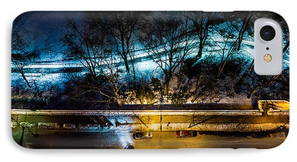 IPhone Case featuring the photograph Central Park by M G Whittingham