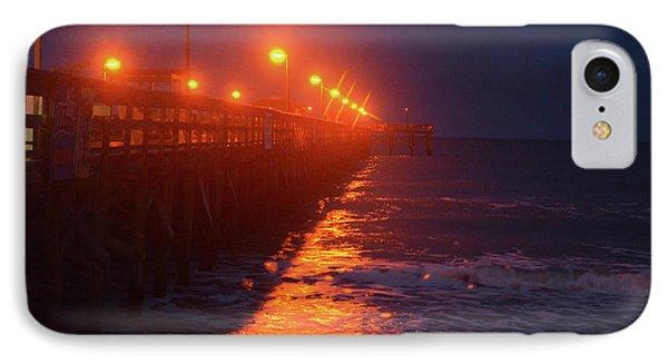 Night Pier IPhone Case by Gordon Mooneyhan