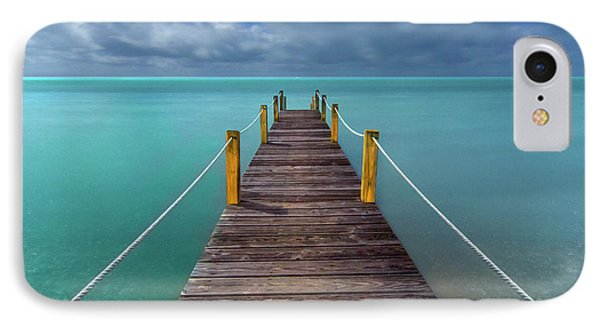 Night Pier IPhone Case by Marco Crupi