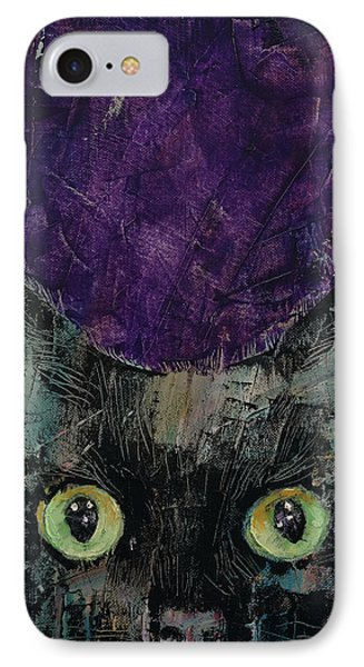 Night Prowler IPhone Case by Michael Creese