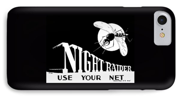 Night Raider Ww2 Malaria Poster IPhone Case