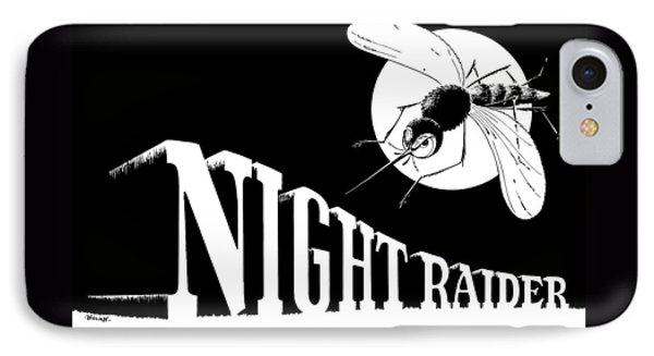 Night Raider Ww2 Malaria Poster Phone Case by War Is Hell Store