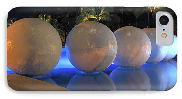 IPhone Case featuring the photograph Night Reflections by Shane Bechler