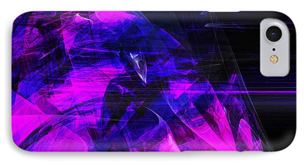Night Rider . Square . A120423.936.693 IPhone Case by Home Decor