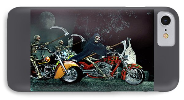 Night Riders IPhone Case by Steven Agius
