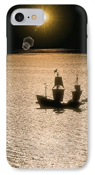 Night Sail IPhone Case by Tim Allen