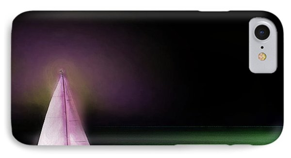 IPhone Case featuring the painting Night Sailing by Michael Cleere