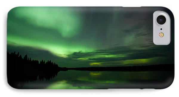 IPhone Case featuring the photograph Night Show by Yvette Van Teeffelen