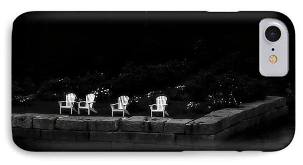 Night Sitting IPhone Case