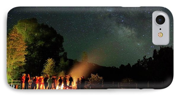 Night Sky Fire IPhone Case