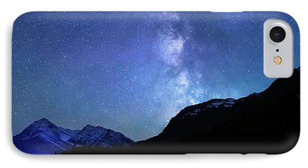 IPhone Case featuring the photograph Night Sky In David Thomson Country by Dan Jurak