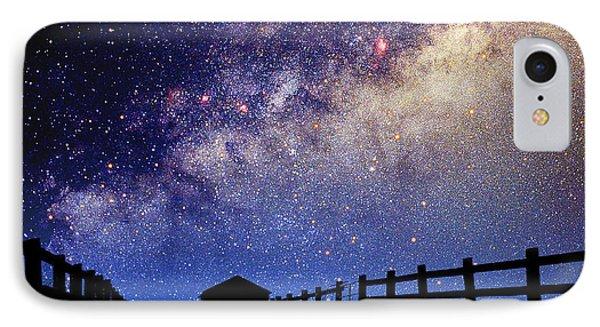 Night Sky Phone Case by Larry Landolfi and Photo Researchers