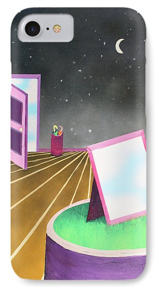 IPhone Case featuring the painting Night by Thomas Blood