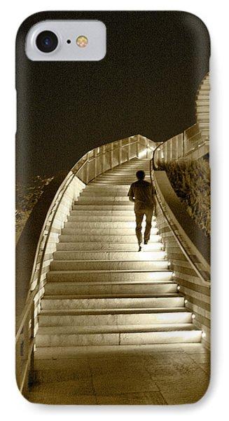 Night Time Stairway Phone Case by Ben and Raisa Gertsberg