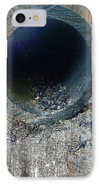 IPhone Case featuring the mixed media Night by Tony Rubino