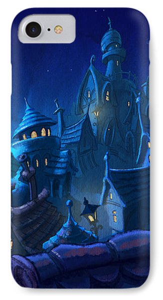 Night Town IPhone Case by Andy Catling