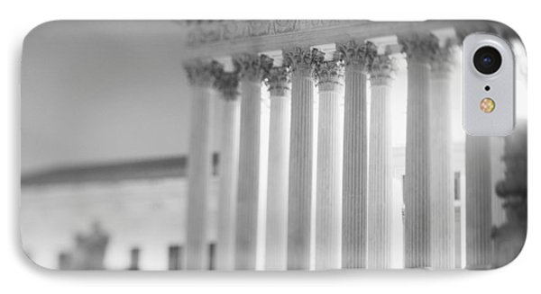 Night Us Supreme Court Washington Dc IPhone Case by Panoramic Images