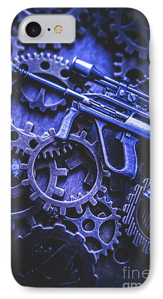 Night Watch Gears IPhone Case by Jorgo Photography - Wall Art Gallery