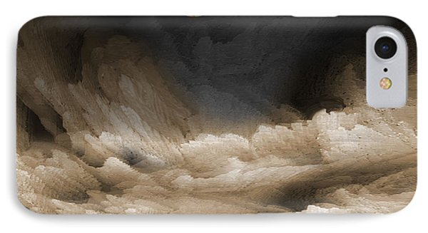 Night Waves IPhone Case by James MacColl