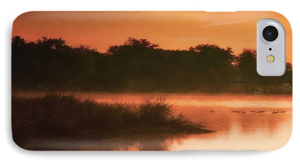 Nightfall Ducks IPhone Case by Glenn Gemmell