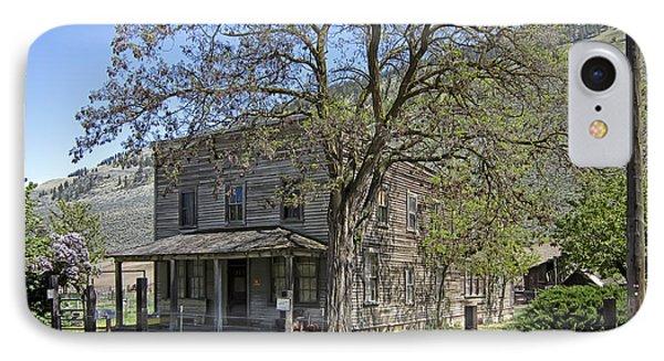 Nighthawk Ghost Town Hotel - Washington State IPhone Case