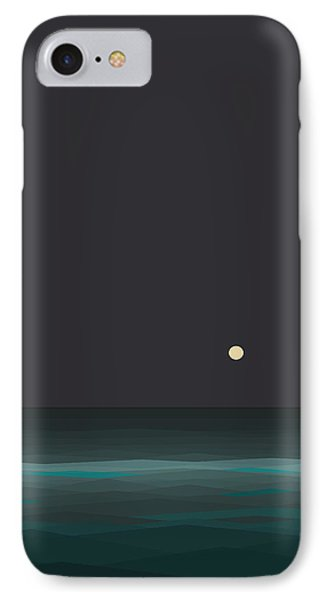 Nights At Sea IPhone Case by Val Arie