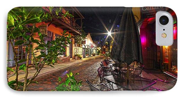 Nights In Oldtown IPhone Case by Robert Och