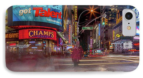 Nights On Broadway IPhone 7 Case by Az Jackson