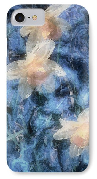 Nighttime Narcissus Phone Case by RC deWinter