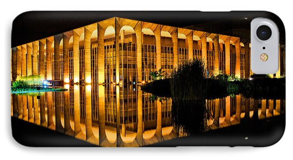 IPhone Case featuring the photograph Nighttime Reflections by Kim Wilson