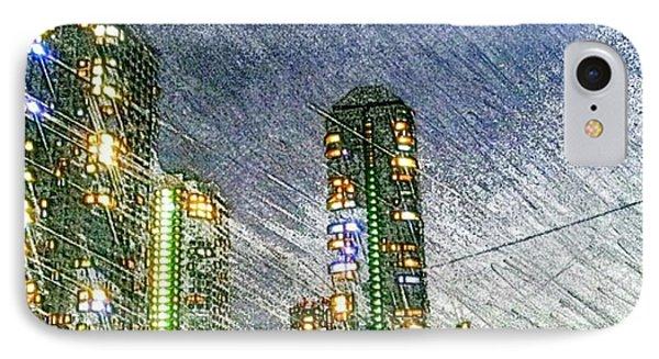 Tokyo River IPhone 7 Case by Daisuke Kondo