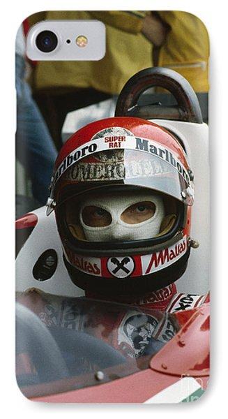 Niki Lauda. 1977 Austrian Grand Prix IPhone Case