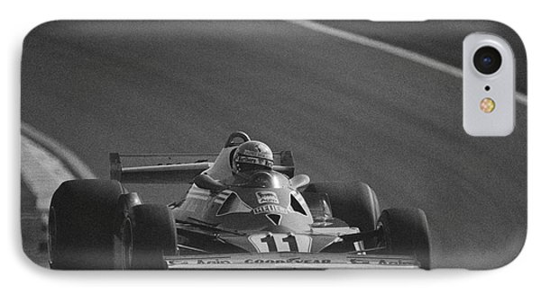 Niki Lauda. 1977 French Grand Prix IPhone Case
