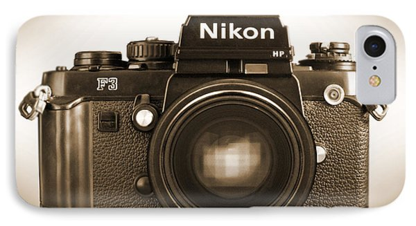 Nikon F3 Hp Phone Case by Mike McGlothlen