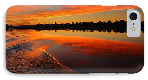 Nile Sunset IPhone Case by Nigel Fletcher-Jones