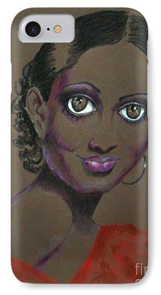 Nina Mae -- African-american Actress Portrait IPhone Case