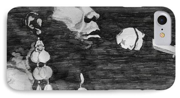 Nina Simone IPhone Case by Rachel Natalie Rawlins