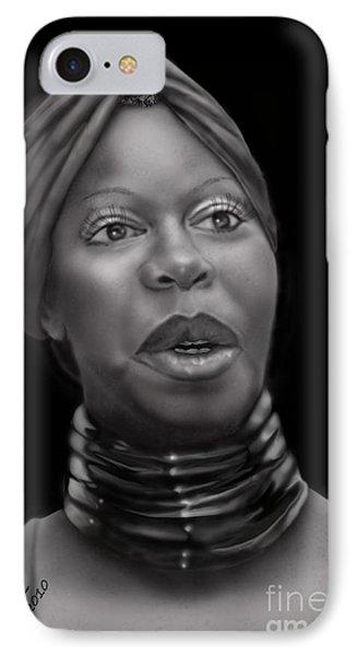 Nina Simone-revolution Phone Case by Reggie Duffie
