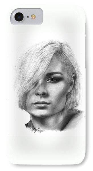 Nina Nesbitt Drawing By Sofia Furniel IPhone Case