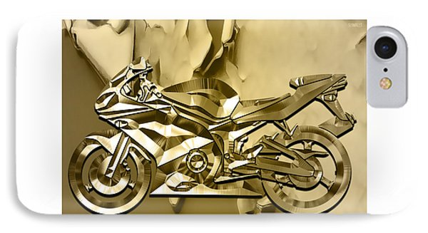 Ninja Motorcycle Colection IPhone Case by Marvin Blaine