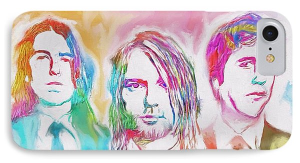 Nirvana Color Splash IPhone Case by Dan Sproul