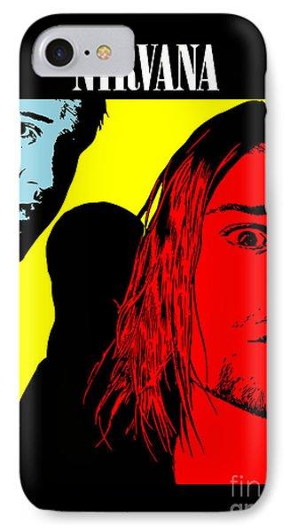 Nirvana No.01 IPhone Case by Caio Caldas