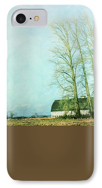 IPhone Case featuring the photograph Nisqually Barns by Jean OKeeffe Macro Abundance Art