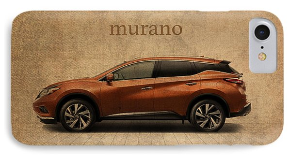 Nissan Murano Vintage Concept Art IPhone Case by Design Turnpike