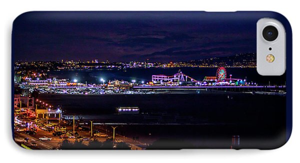 Nite Life On The Pier IPhone Case