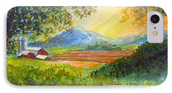 Nixon's Majestic Farm View IPhone Case by Lee Nixon
