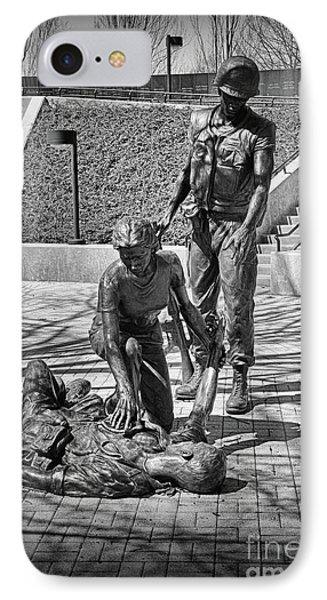Nj Vietnam Veterans Memorial IPhone Case by Paul Ward