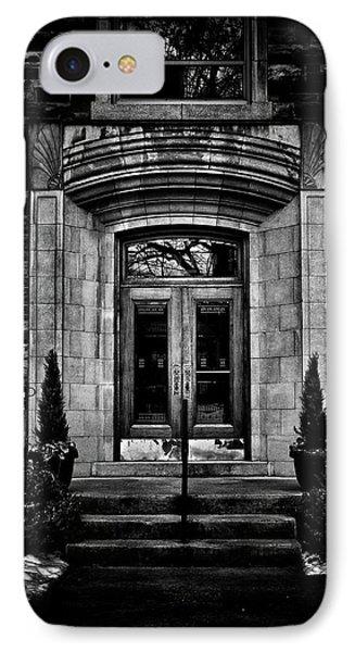 IPhone Case featuring the photograph No 2 Glen Elm Avenue Toronto Canada by Brian Carson