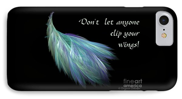 Wings IPhone Case by Suzanne Schaefer