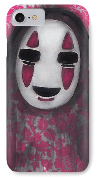No Face  IPhone Case by Abril Andrade Griffith